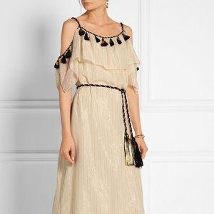 Rachel Zoë cotton and silk-blend maxi dress
